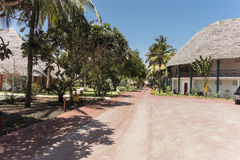 Resort hotel on Zanzibar Island Stock Photography