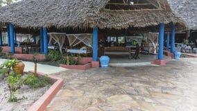 Resort hotel on Zanzibar Island Royalty Free Stock Photography