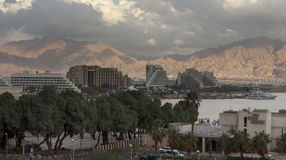 Resort hotels in Eilat Stock Images