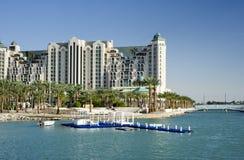 Resort hotels in Eilat, Israel Stock Photos