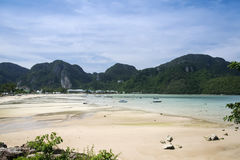 Koh phi phi don beach thailand Stock Image