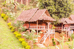 Resort and hut. North of Thailand Royalty Free Stock Photography