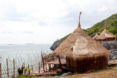 Resort hut in thailand. Stock Photography