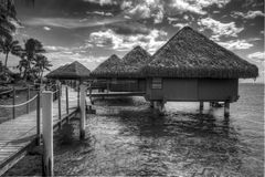 Resort Huts Stock Images
