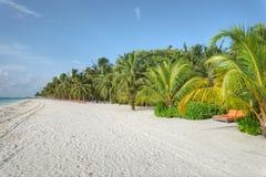 Resort island at the Maldives. Club Med Kani at the Maldives Royalty Free Stock Images
