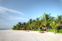 Resort island at the Maldives. Club Med Kani at the Maldives Royalty Free Stock Photo