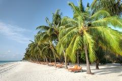 Resort island at the Maldives. Club Med Kani at the Maldives Royalty Free Stock Photography