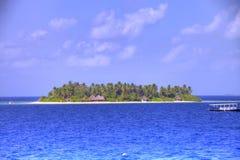 Resort island of Republic of Maldives Royalty Free Stock Image