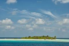 Resort island of Republic of Maldives Stock Photos