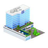 Resort isometric Stock Photos