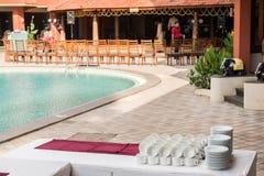 Resort in Kerala royalty free stock photo