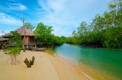 Resort at koh payam Stock Image