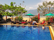 Resort in Laos Stock Photography