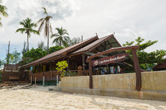 Resort located on the serene Chao Lay Beach, near the island's native Urak Lawoy fishermen village Royalty Free Stock Photography