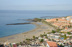 Resort Los Cristianos. Tenerife, Spain Royalty Free Stock Images