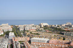 Resort Los Cristianos. Tenerife, Spain Royalty Free Stock Photography