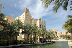 Resort Madinat Jumeirah, Dubai Royalty Free Stock Photos