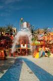Resort Makadi Sunwing Water World in Hurghada in Egypt stock photo