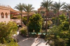 Resort Makadi Sunwing Water World in Hurghada in Egypt royalty free stock images