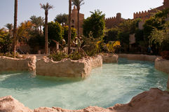 Resort Makadi Sunwing Water World in Hurghada in Egypt stock photography