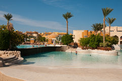 Resort Makadi Sunwing Water World in Hurghada in Egypt Royalty Free Stock Images