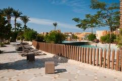Resort Makadi Sunwing Water World in Hurghada in Egypt Stock Images