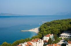 Resort Makarska. Croatia Stock Image