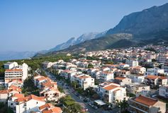 Resort Makarska. Croatia Royalty Free Stock Images