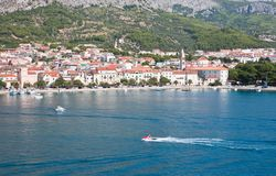 Resort Makarska.  Croatia Royalty Free Stock Photography