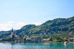 Resort Maria Worth. Austria Royalty Free Stock Images