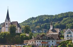 Resort Maria Worth. Austria Royalty Free Stock Photo