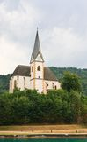Resort Maria Worth. Church of St. Primus and Felician. Austria Stock Photo