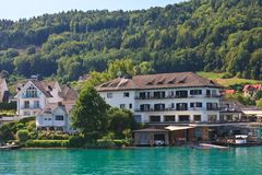 Resort Maria Worth.Worthersee. Austria Royalty Free Stock Photography