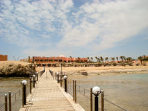 Resort in Marsa Alam Stock Photography