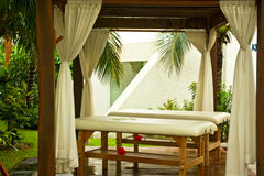 Resort_massage Stock Photo