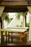 Resort massages. In a cancun hotel Royalty Free Stock Image