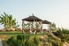 Resort on mediterranean sea, Paphos, Cyprus Stock Image