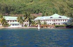Resort on Moorea island Royalty Free Stock Photography