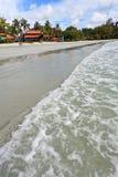 Resort near the beach on a tropical island Royalty Free Stock Photo