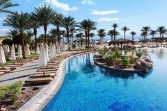Resort near the Red Sea Stock Photo