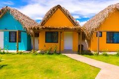 Resort at the Pacific Ocean in Panama Stock Photo