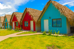 Resort at the Pacific Ocean in Panama Stock Images