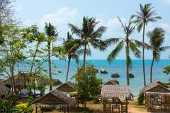 Resort panorama Stock Photos