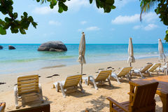 Resort panorama Royalty Free Stock Image