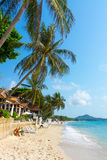 Resort panorama Royalty Free Stock Photography