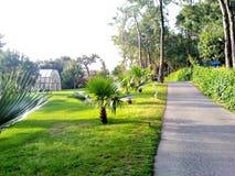 Resort park Stock Image