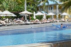 Resort in Playa del Carmen Stock Image