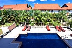 Resort pool Royalty Free Stock Photography