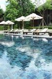 Resort pool Stock Images