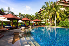 Resort Pool Royalty Free Stock Photos